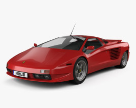 3D model of Cizeta-Moroder V16T 1991