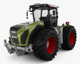 3D model of Claas Xerion 5000 Trac VC 2014