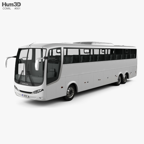 3D model of Comil Campione 3.65 Bus 2012