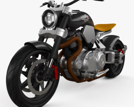 3D model of Confederate X132 Hellcat Speedster 2015
