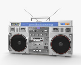 3D model of Conion C-100F Boombox