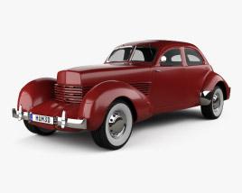 3D model of Cord 810 Westchester sedan 1936
