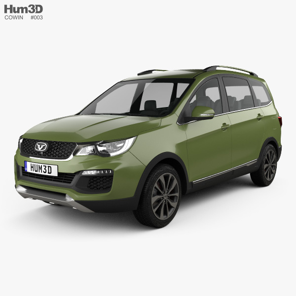 Cowin V3 SUV 2017 3D model