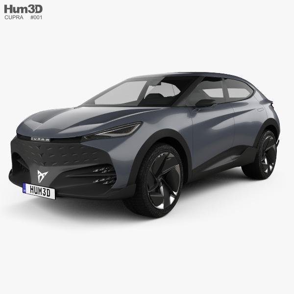 Cupra Tavascan 2019 3D model