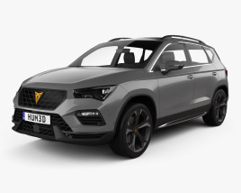 3D model of Cupra Ateca 2020
