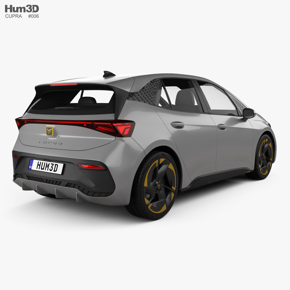 Cupra Born 2022 3d model