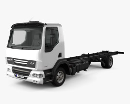 3D model of DAF LF Chassis Truck 2011