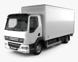 3D model of DAF LF Delivery Truck 2011