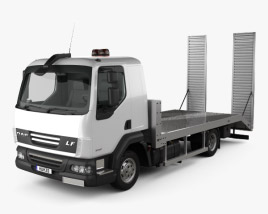 3D model of DAF LF Car Transporter 2011