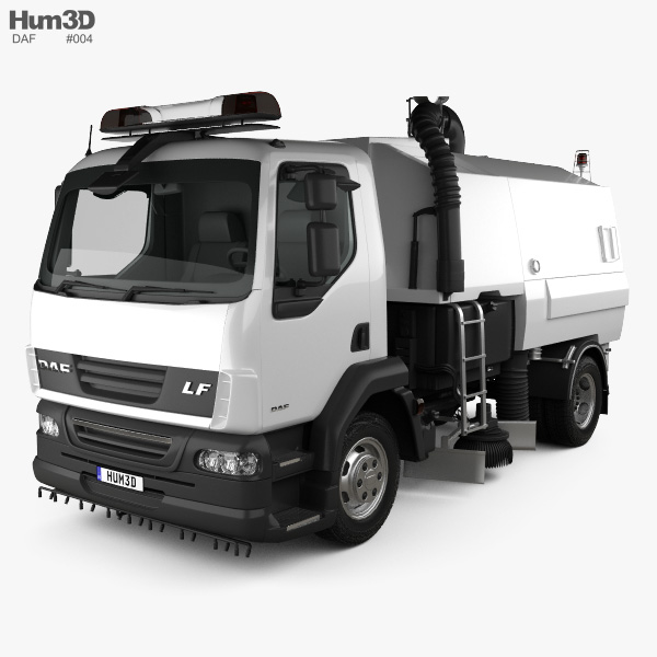 DAF LF Road Cleaner 2011 3D model