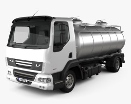 3D model of DAF LF Tanker 2011