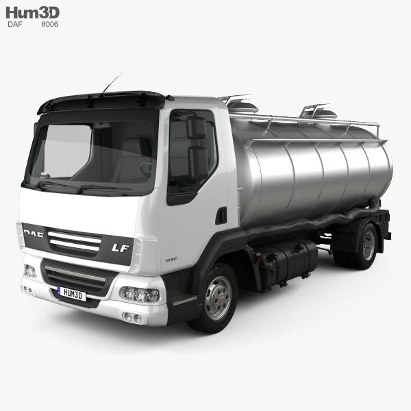 DAF LF Tanker Truck 2011 3D model