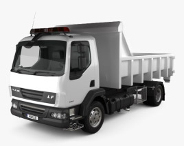 3D model of DAF LF Tipper 2011