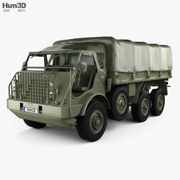 DAF YA 328 1952 3D model