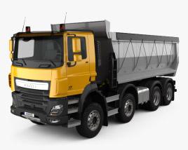 DAF CF Tipper Truck 2013 3D model