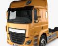 DAF CF Tractor Truck 2013 3d model
