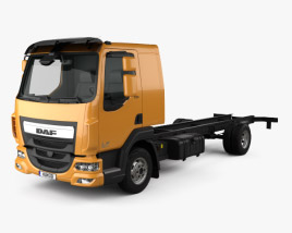 DAF LF Chassis Truck 2013 3D model