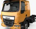 DAF LF Chassis Truck 2013 3d model
