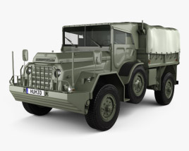 3D model of DAF YA-126 Weapon Carrier 1952