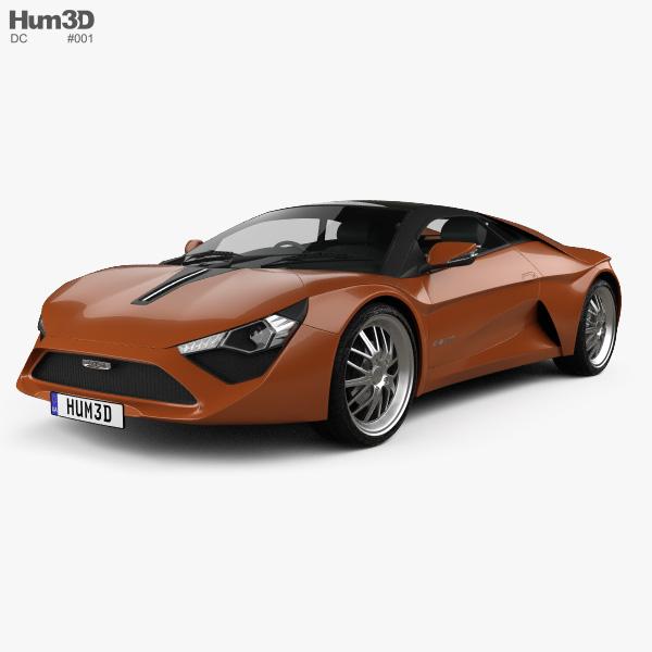 DC Avanti 2015 3D model