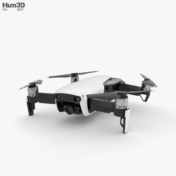 3D model of DJI Mavic Air