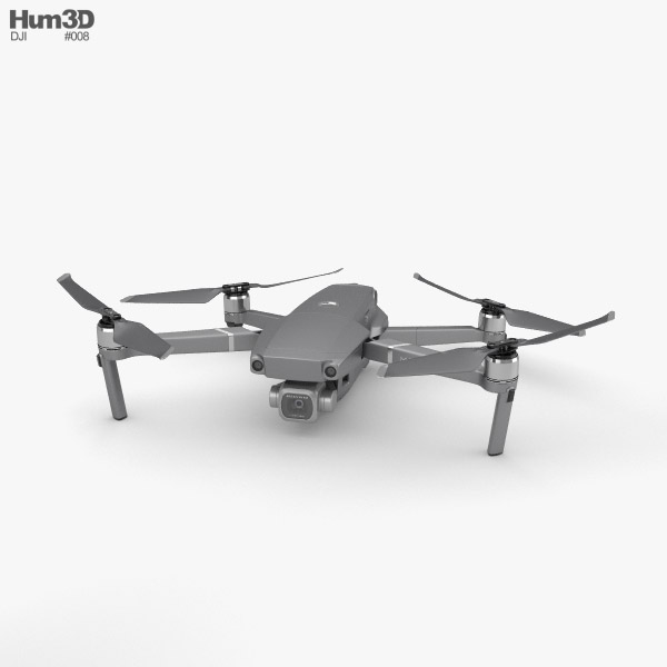 3D model of DJI Mavic 2 Pro