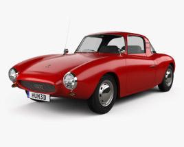 3D model of DKW 3=6 Monza 1956