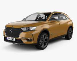 3D model of DS7 Crossback 2017