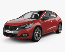3D model of DS 4 Crossback 2015