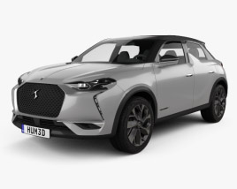 3D model of DS 3 Crossback E-Tense 2019