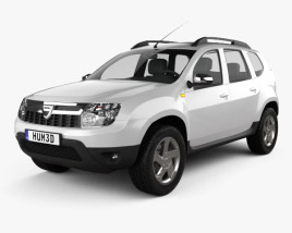 3D model of Dacia Duster 2011