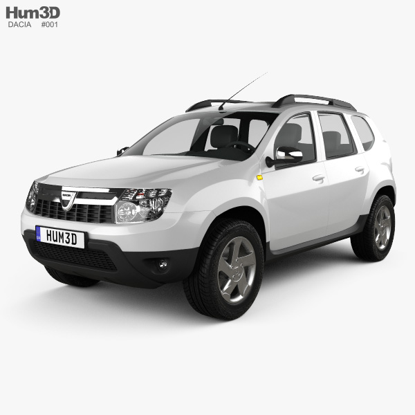 3D model of Dacia Duster 2011
