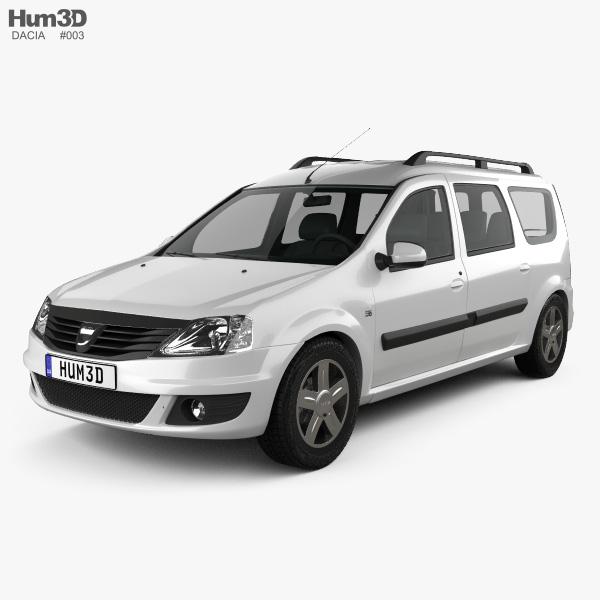 3D model of Dacia Logan MCV 2011