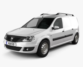 3D model of Dacia Logan Van 2011