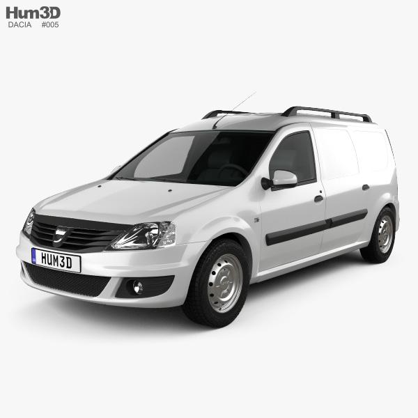 Dacia Logan Van 2011 3D model