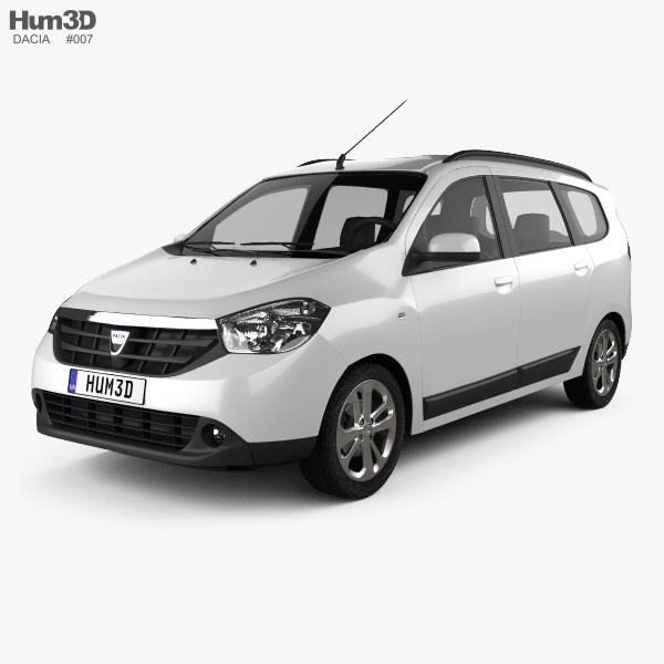 Dacia Lodgy 2012 3D model