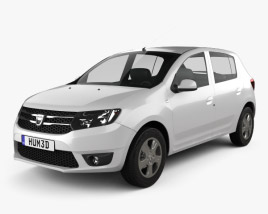 3D model of Dacia Sandero 2013