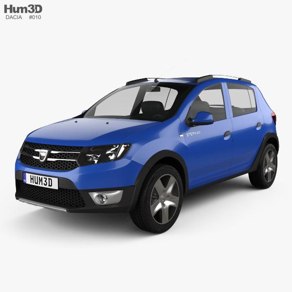 Dacia Sandero Stepway 2013 3D model