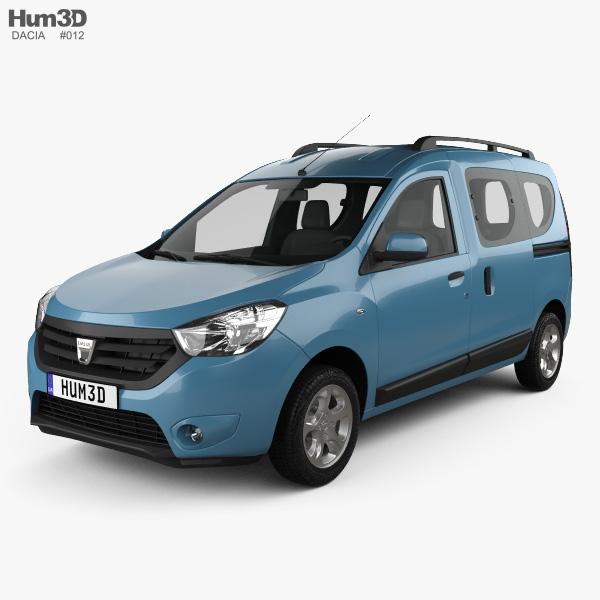 Dacia Dokker 2012 3D model