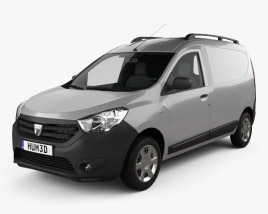 3D model of Dacia Dokker Van 2012
