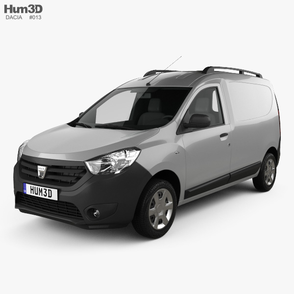 Dacia Dokker Van 2012 3D model