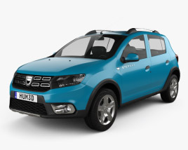 3D model of Dacia Sandero Stepway 2017