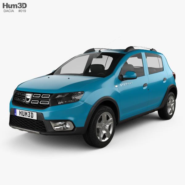 3D model of Dacia Sandero Stepway 2017