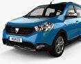 Dacia Lodgy Stepway 2014 3d model