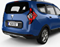 Dacia Lodgy Stepway 2016 3d model