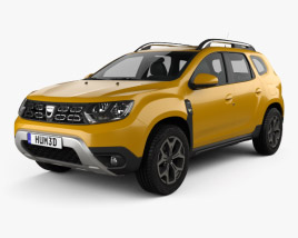 3D model of Dacia Duster 2018