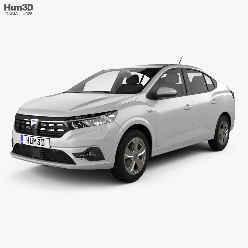 3D model of Dacia Logan 2021