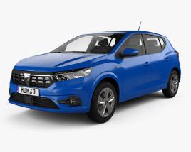 3D model of Dacia Sandero 2021