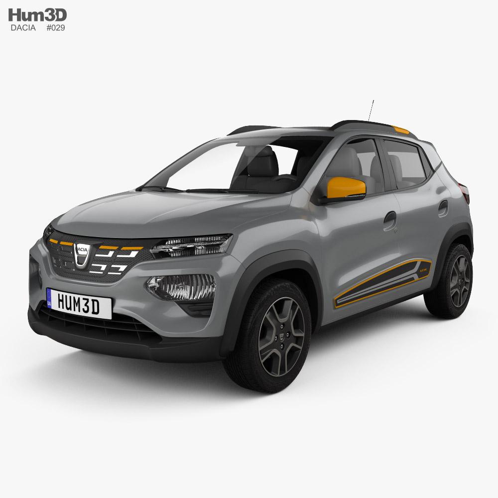 Dacia Spring Electric 2022 3D model