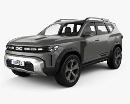 Dacia Bigster 2021 3D model